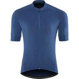Giro New Road Maillot de cyclisme Homme, midnight blue heather